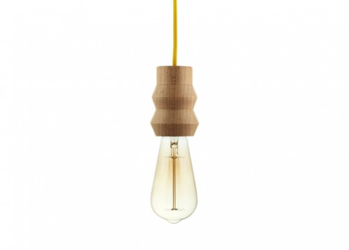 "Lampa WOODY ""SINGLE ZIG-ZAG"""